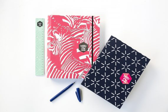 Planner met notebook